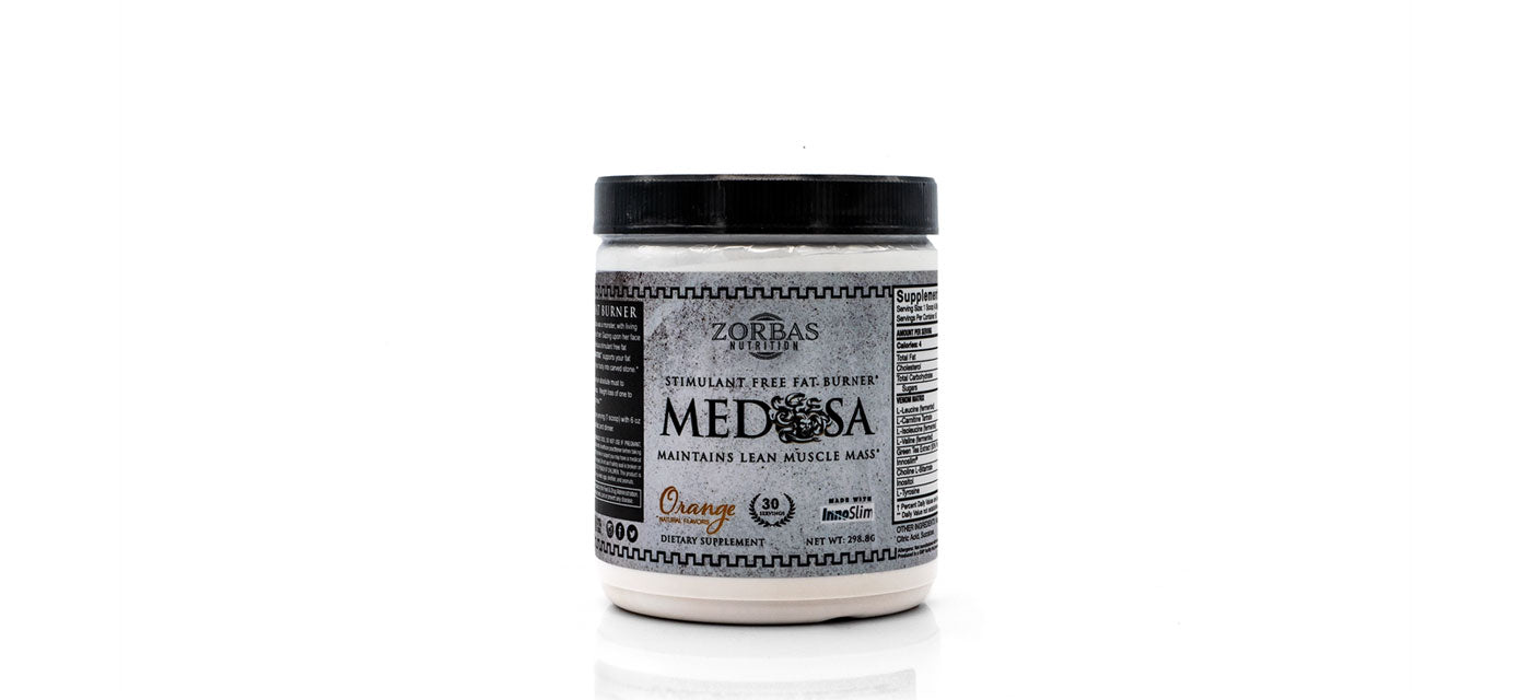 Medusa — Stimulant Free Fat Burner — Greek God Supplement