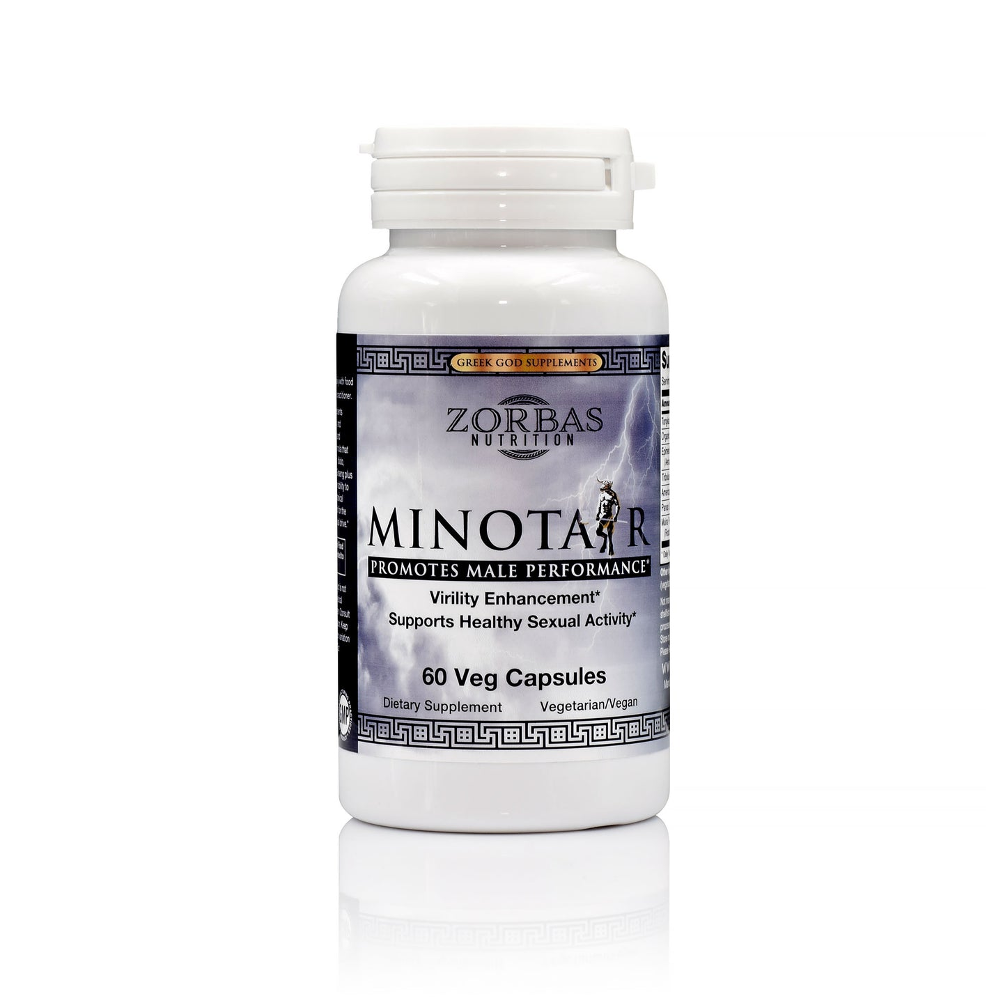 Minotaur — Virility Enhancement — Greek God Supplement