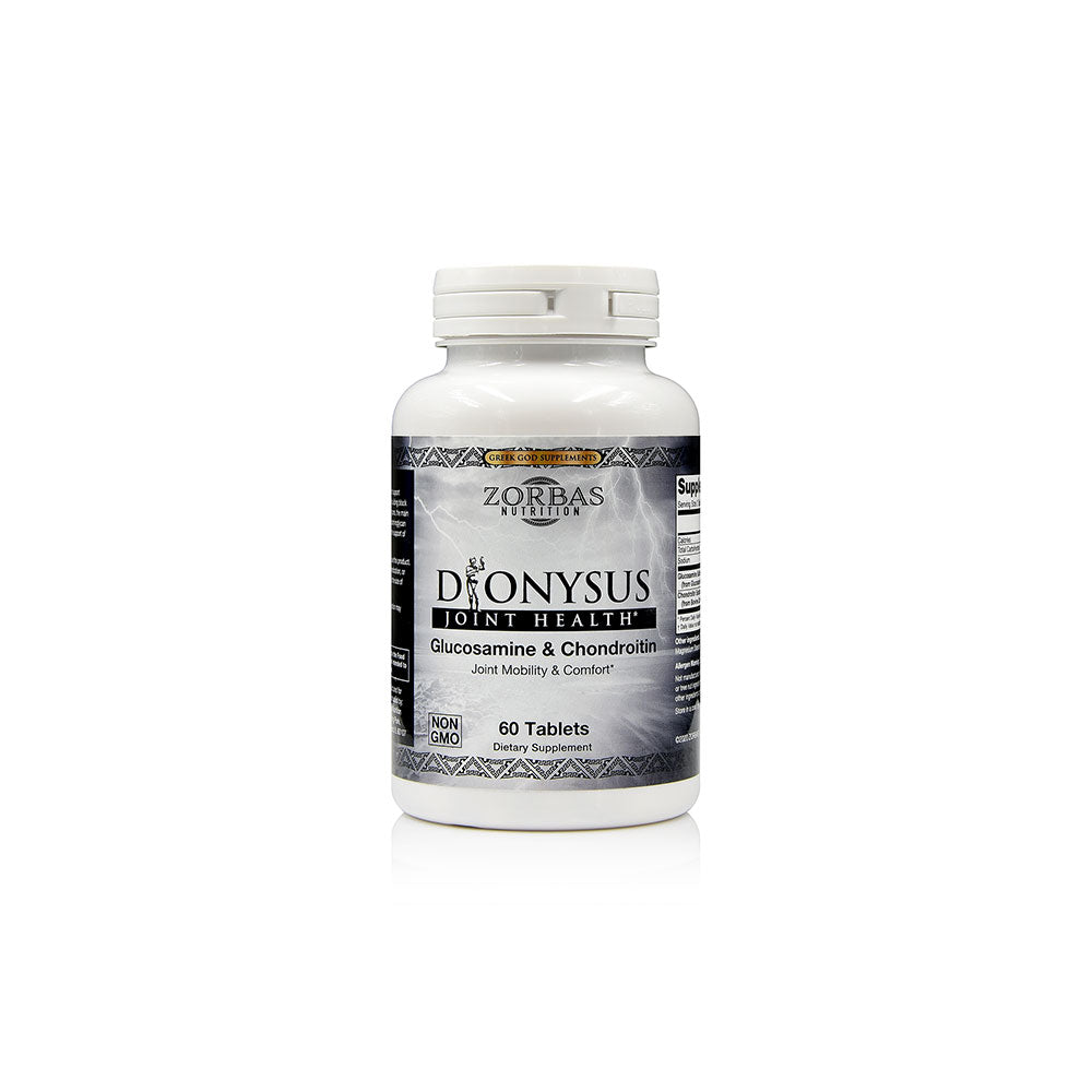 Dionysus — Glucosamine & Chondroitin Greek God Supplement