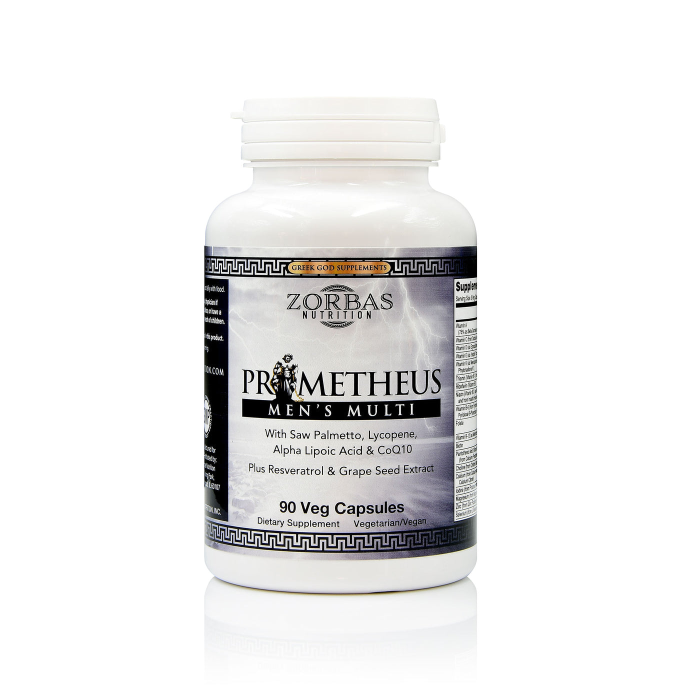 Prometheus Men's Multi Dietary Supplement — Greek God Supplements