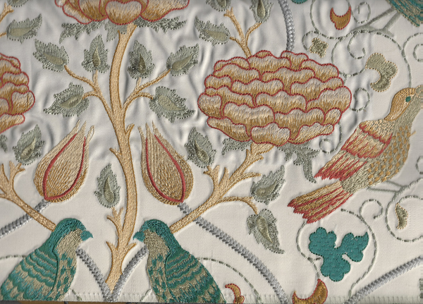 MORRIS & Co - ARCHIVE V, Melsetter  EMBROIDERY