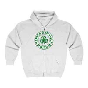 Unisex Outah-Wear The Original Big 3 Heavy Full Zip Hoodie