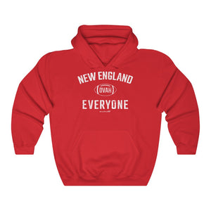 Unisex Outah-Wear New England Football Ovah Everyone Hooded Sweatshirt