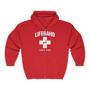 Unisex Outah-Wear Lifegahd Cape Cod Heavy Full Zip Hoodie