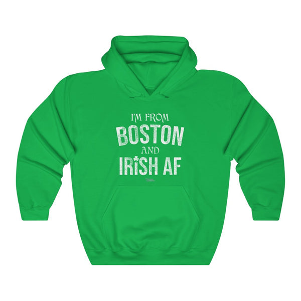 Unisex Outah-Wear Irish AF Hooded Sweatshirt