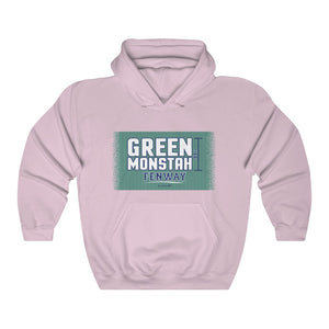 Unisex Outah-Wear The Green Monstah Hooded Sweatshirt