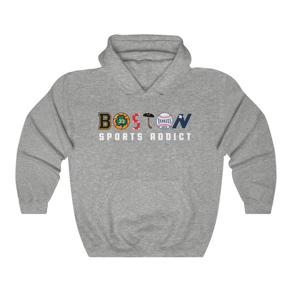 Unisex Outah-Wear Boston Sports Addict Heavy Hoodie