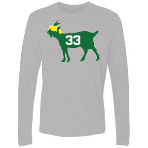 #33 GOAT Men's Premium Cotton