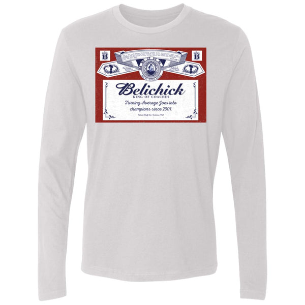 Men's Premium Cotton Belichick: King of Coaches
