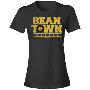 Women's Premium Cotton Beantown Hockey with Bear