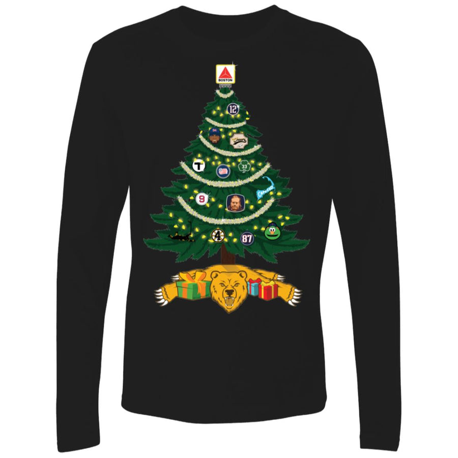 Men's Premium Cotton Merry Christmas Boston!
