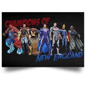 Horizontal Poster Champions of New England: Legends