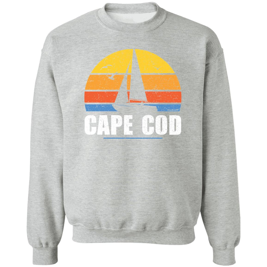 Unisex Crewneck Outah-Wear Sweatshirt Sail Away at Cape Cod