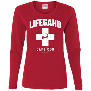Women's Premium Cotton Lifegahd Cape Cod