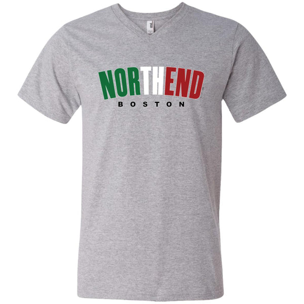 Men's Premium Cotton North End Italian Flag Colors