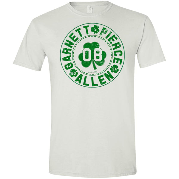 -Men's Premium Cotton The Big 3 Green Letters