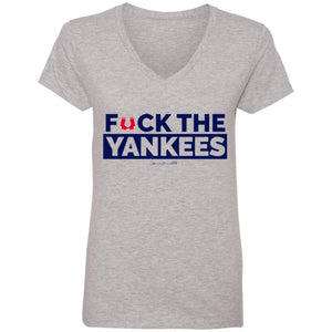 WPFC Women's V-Neck T-Shirt F the Yankees