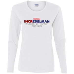 Women's Premium Cotton Incredelman Logo+