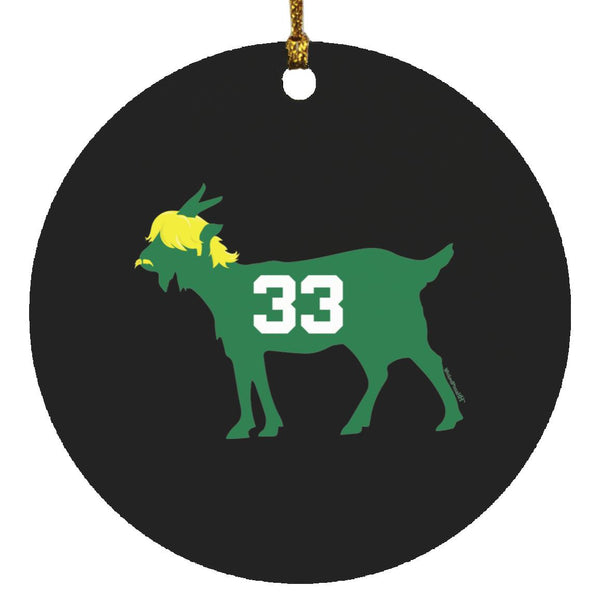 Larry GOAT Ornament