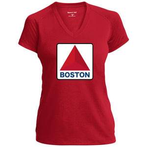 Women's Premium Cotton Neon Boston Sign Traditional+