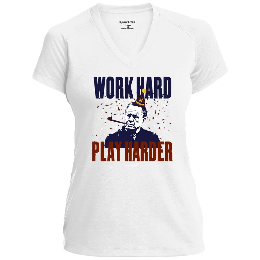 Women's Premium Cotton Work Hard, Play Harder