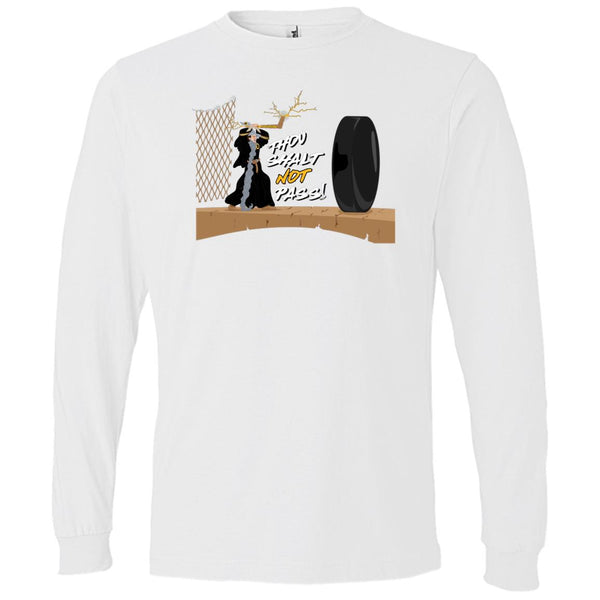 -Men's Premium Cotton Thou shalt not pass! Hockey