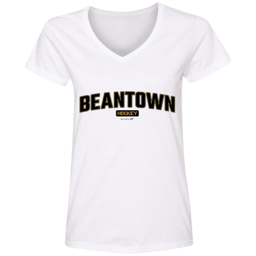 WPFC Women's V-Neck T-Shirt Beantown Hockey