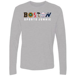 Men's Premium Cotton Boston Sports Junkie