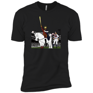 -Men's Premium Cotton Unicorn Poo Baseball