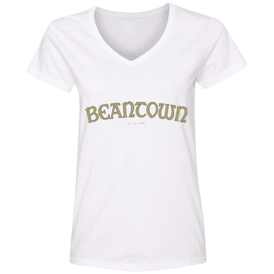 WPFC Women's V-Neck T-Shirt Beantown Basketball