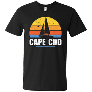 Men's Premium Cotton Sail Away Cape Cod