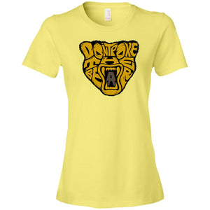 Women's Premium Cotton Don't Poke the Bear Head+