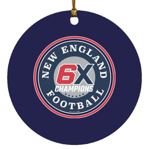 New England Champions Ornament