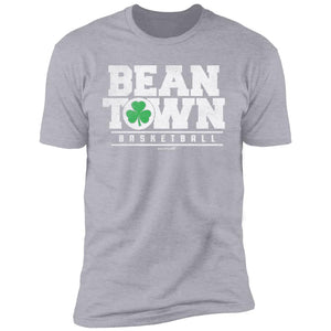 Men's Premium Cotton Beantown Basketball with Shamrock