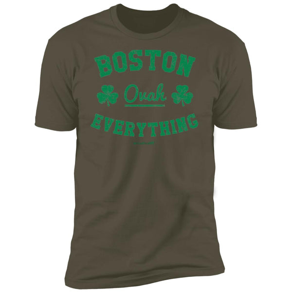 Men's Premium Cotton Boston Ovah Everything