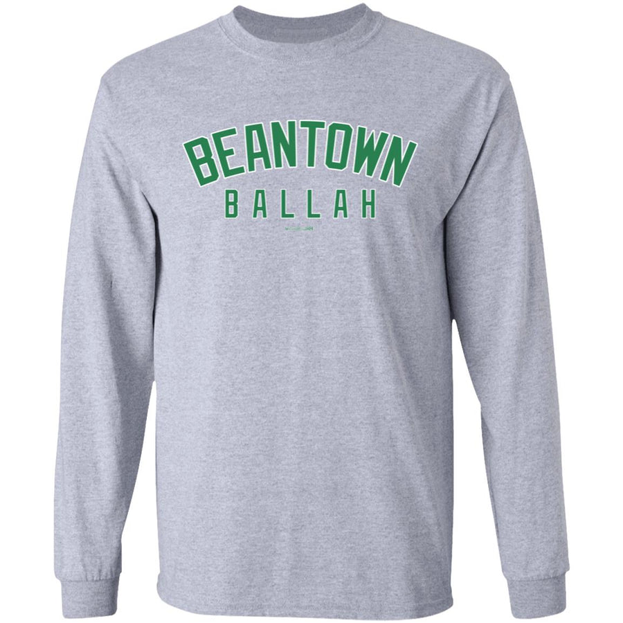 Men's Premium Cotton Beantown Ballah Green Letters