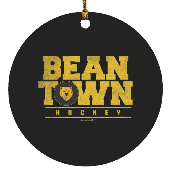 Bean Town hockey Ornament