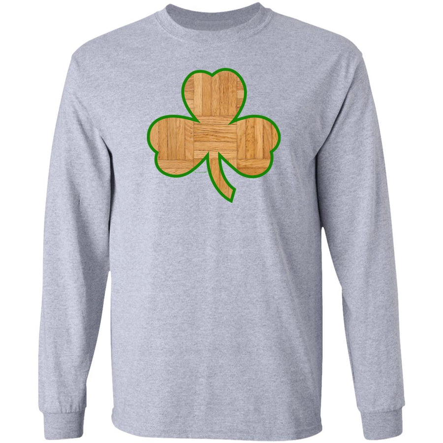 -Men's Premium Cotton Parque Clover Green Border