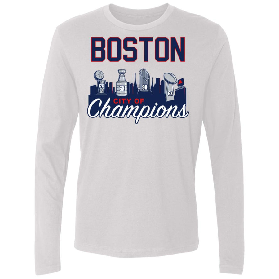 Men's Premium Cotton Boston City of Champions