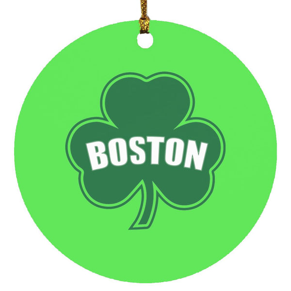 Boston Shamrock Ornament