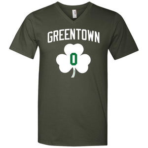 Men's Premium Cotton Greentown Basketball #0