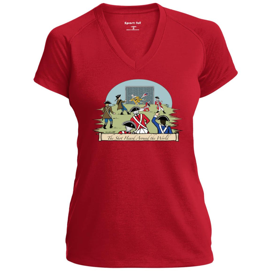 Women's Premium Cotton The Shot Heard Around the World+