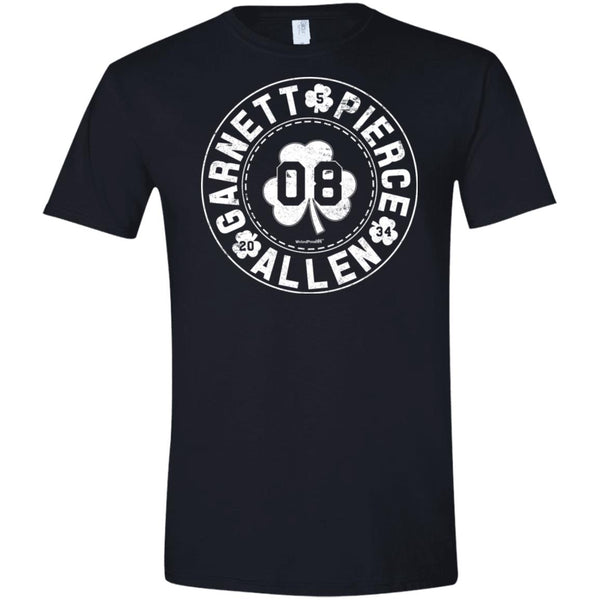 -Men's Premium Cotton The Big 3 White Letters
