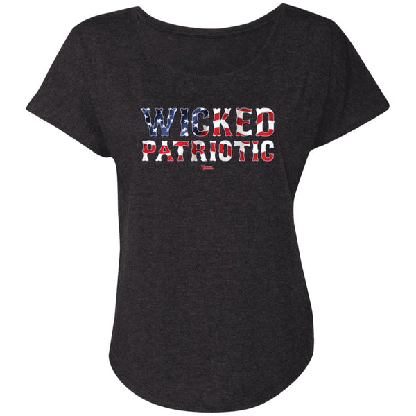 Women's Premium Cotton Wicked Patriotic
