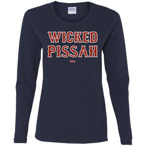 Women's Premium Cotton Wicked Pissah Red