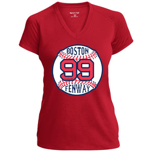 Women's Premium Cotton Boston Baseball #99