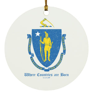 Mass Flag Ornament