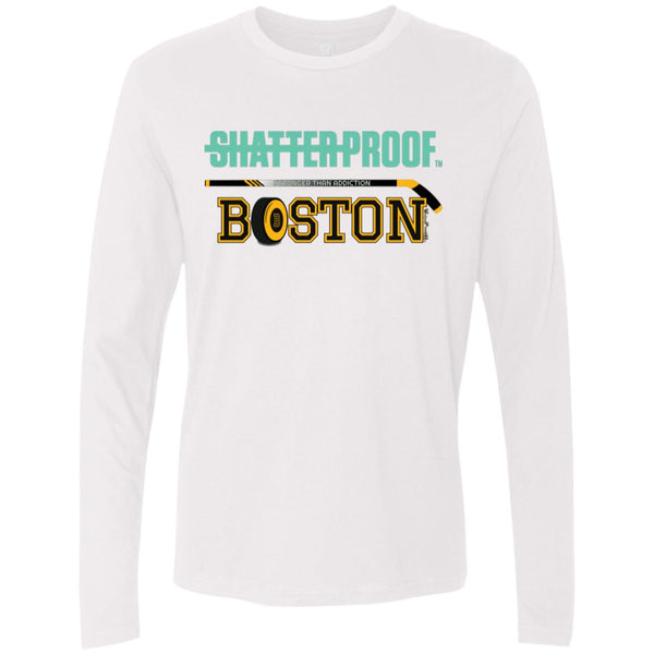 -Men's Premium Cotton Shatterproof Boston Hockey