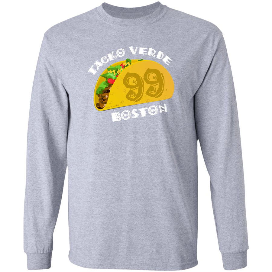 -Men's Premium Cotton Taco Verde White
