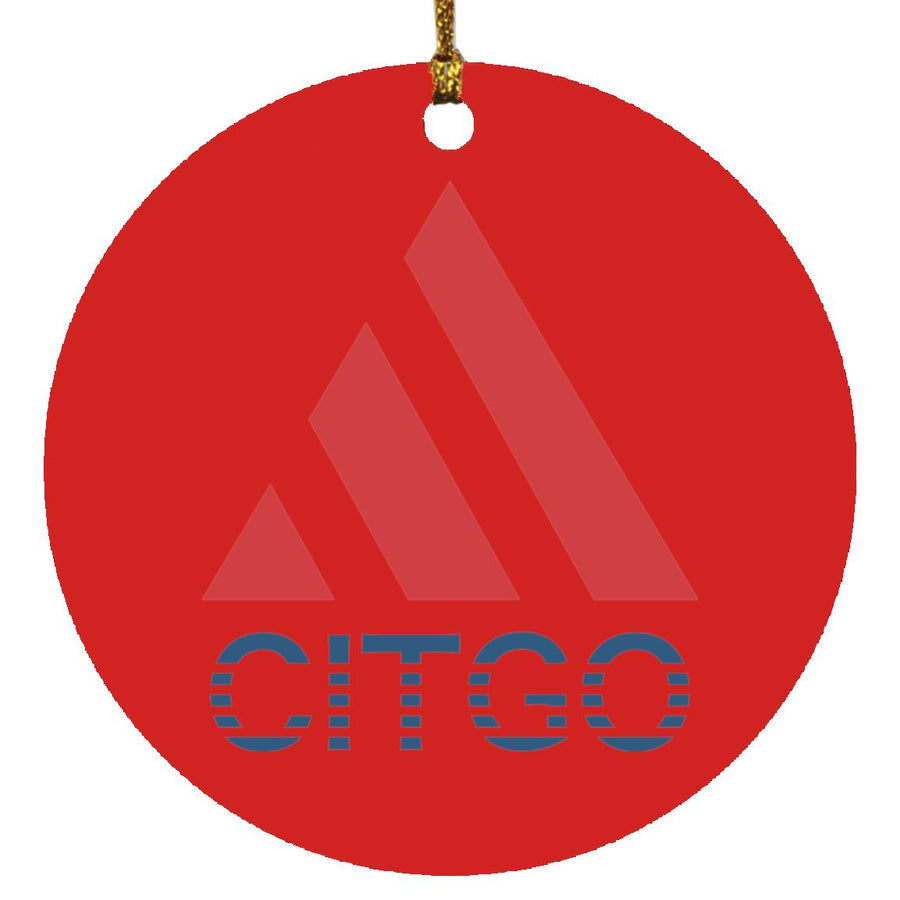 Citgo Triangle Ornament